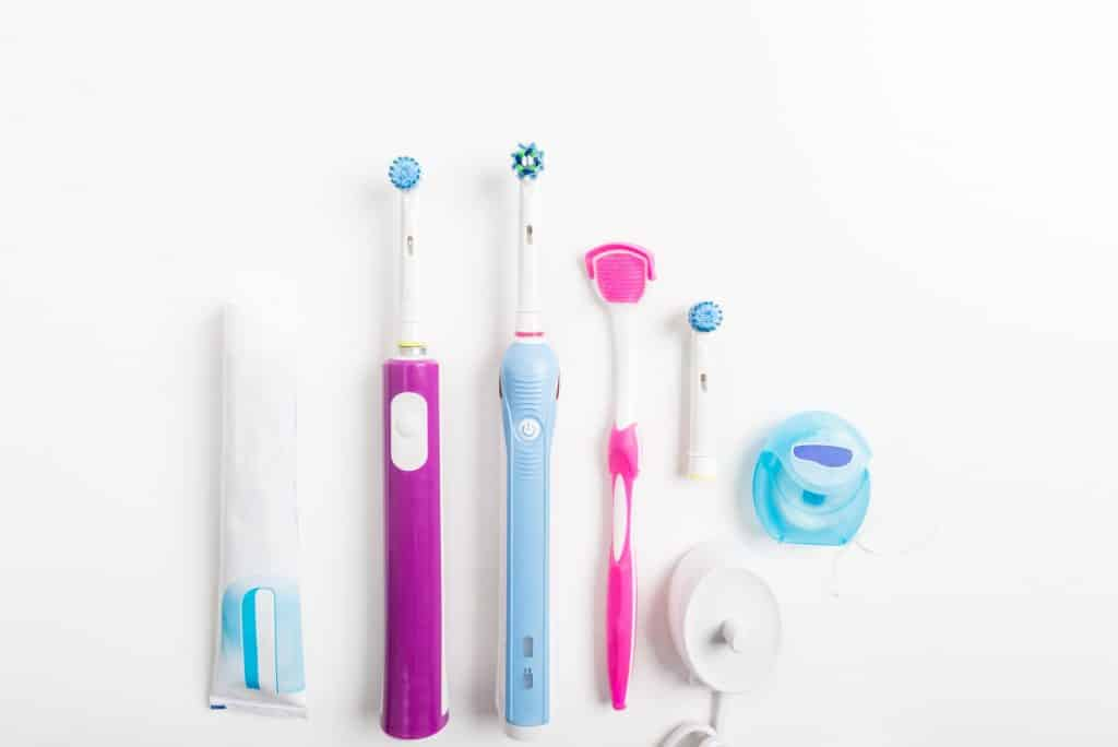 Electric Rechargeable Toothbrushes, Tongue Cleaner and other den
