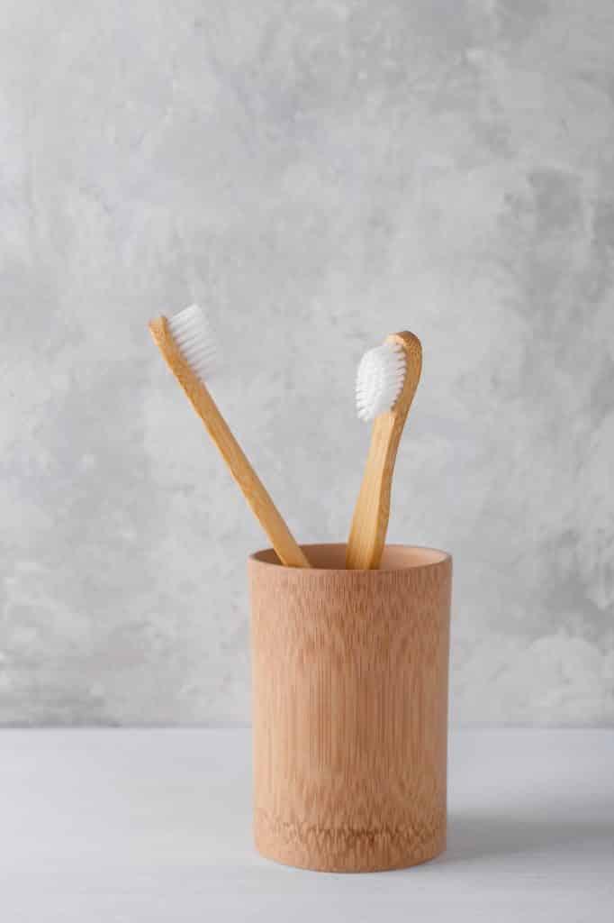 Natural bamboo toothbrushes